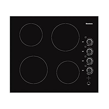 Blomberg CTE24402 24 Electric Cooktop, Black Manual Control