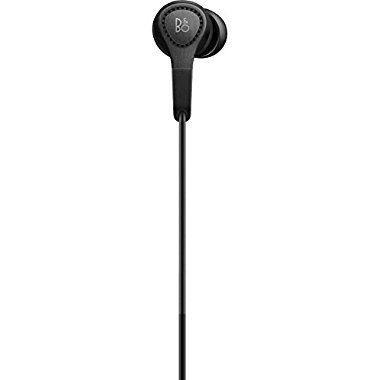 B&O PLAY by Bang & Olufsen Beoplay H3 2nd Generation In-Ear Earphone Headphone with Microphone (Black)