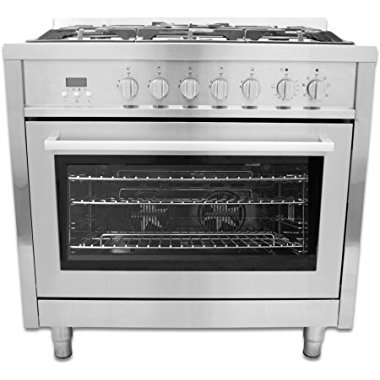 Cosmo 36 in. Dual Fuel Range, F965