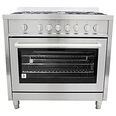 Cosmo COS965AGF 36 Gas Freestanding Range