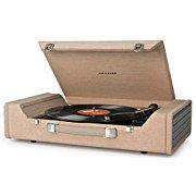 Crosley Nomad Portable USB Turntable w/ Software for Editing Audio (Brown)