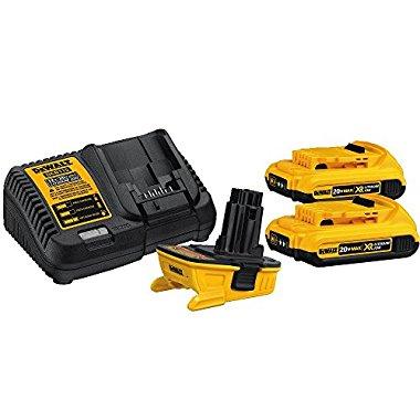 Dewalt Dca2203c 20 Volt Max Battery Adapter Kit For 18