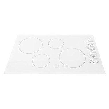 Frigidaire 32 White Electric Smoothtop Cooktop FFEC3225MW