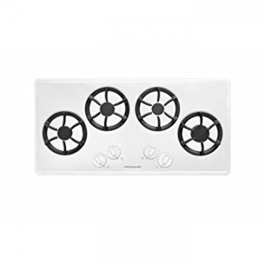 "Frigidaire FFGC3613LW 36"" Sealed Burner Gas Cooktop With 4 Sealed Burners in White"