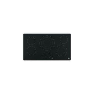 GE JP5036DJBB 36 Black Electric Smoothtop Cooktop