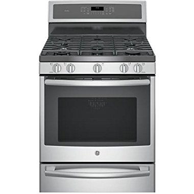 GE P2B940SEJSS Profile 30 Stainless Steel Dual Fuel Sealed Burner Range