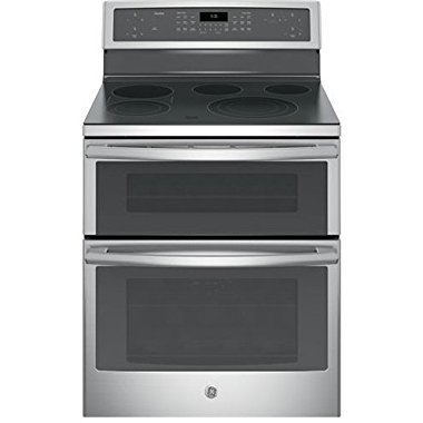 GE PB960SJSS Profile 30 Stainless Steel Electric Smoothtop Double Oven Range Convection