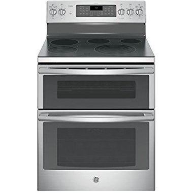 GE PB980SJSS Profile 30 Stainless Steel Electric Smoothtop Double Oven Range Convection