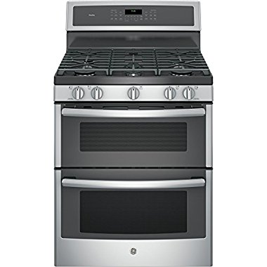 GE PGB960SEJSS Profile 30 Stainless Steel Gas Sealed Burner Double Oven Range