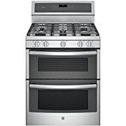 GE PGB980ZEJSS 30 Stainless Steel Gas Sealed Burner Double Oven Range
