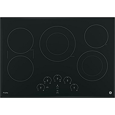 GE PP9030DJBB Profile 30 Black Electric Smoothtop Cooktop