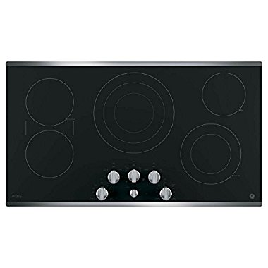 GE Profile PP7036SJSS 36 Stainless Steel Electric Cooktop