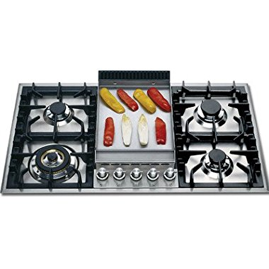 Ilve UHP95FC 36 Gas Cooktop