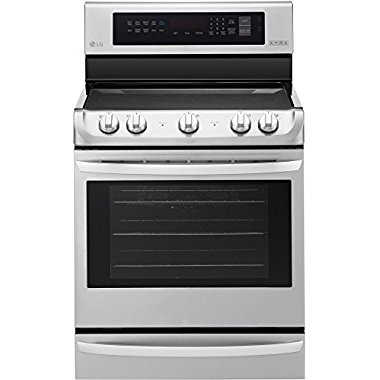 LRE4215ST 6.3 cu.ft. Electric Single Oven Range in Stainless Steel