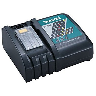Makita DC18RC 18V Lithium-Ion Rapid Optimum Charger for Makita BL1830 18V DC18RA
