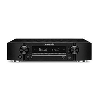 Marantz NR1607 Slim 4K Ultra HD 7.2 Channel Network A/V Receiver with Bluetooth and Wi-Fi