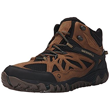 Merrell All Out Blaze Vent Mid Waterproof Men's Hiking Boot (5 Color Options)