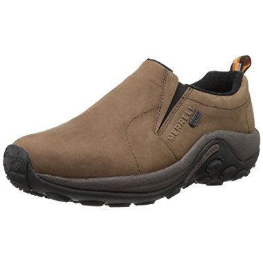 Merrell Men's Jungle Moc Nubuck Waterproof Slip-On Shoe (2 Color Options)