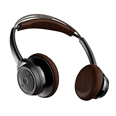 Plantronics Backbeat Sense Wireless Bluetooth Headphones with Mic Black