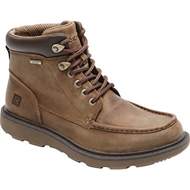 Rockport Boat Builders Men's Waterproof Moc Toe Boot (2 Color Options)