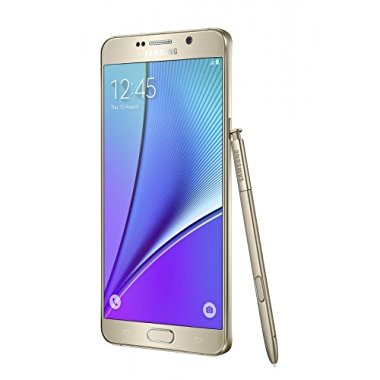 Samsung Galaxy Note 5 N920 Factory Unlocked GSM 32GB Phone (Gold)
