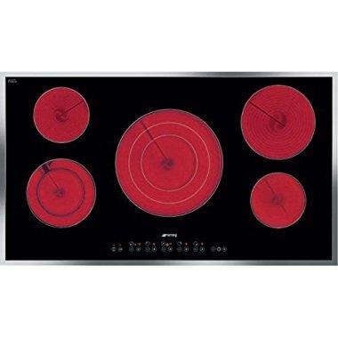 Smeg S2951CXU Electric Cooktop