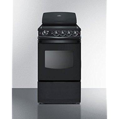 "Summit REX206B 20"" Electric Freestanding Range"
