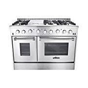 Thor Kitchen HRG4808U 48 Gas Freestanding Range