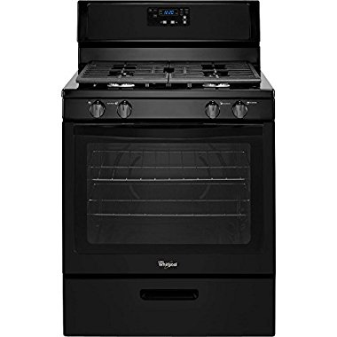 Whirlpool WFG320M0BB 30 5.1 cu. ft. Single Oven Free-Standing Gas Range, Black (GIDDS-110952)