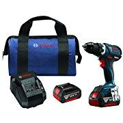 Bosch DDS183-01 18V Lithium-Ion Brushless Compact Tough 1/2 Drill/Driver Kit