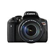 Canon EOS Rebel T6i Digital SLR with EF-S 18-135mm IS STM Lens Wi-Fi Enabled