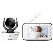 Motorola MBP854CONNECT Digital Video Baby Monitor with Wi-Fi Internet Viewing White