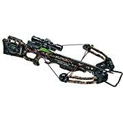 TenPoint Turbo GT Crossbow Package with 50 ACU Draw, 3X Pro View Scope, Pro Elite Carbon Arrows & Quiver, 175 lb/Medium
