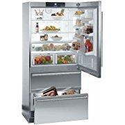 Liebherr CS2060 19.4 Cu. Ft. Gray Counter Depth Bottom Freezer Refrigerator Energy Star