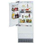Liebherr HC1541 14.1 Cu. Ft. Black Counter Depth Built-In Bottom Freezer Refrigerator Energy Star