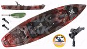 2017 Perception Pescador Pro 10.0 Angler Package Kayak (Red Tiger)