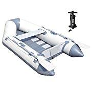 Bestway Hydro Force 91 Caspian Pro Inflatable Boat Set with Oars and Pump