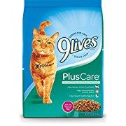 9 Lives Plus Care Dry Cat Food, 12 Lb