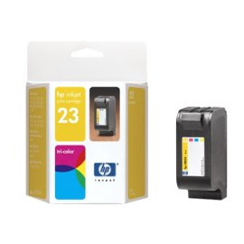 HP 23 Tri-Color Ink Cartridge