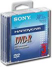 Sony 3DMR30 8CM DVD-R Discs for Video Cameras - Three Pack
