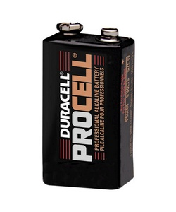 DURACELL 9V/12 PROCELL Professional Alkaline Battery