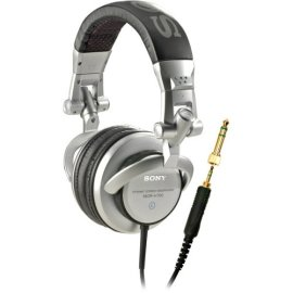 Sony MDR-V700DJ Monitor Series Headphones with 3000 mW Power Capacity