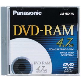 Panasonic 4.7GB DVD-RAM X3-STORAGE MEDIA