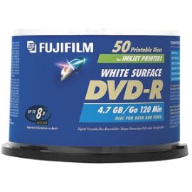 Fujifilm DVD-R 4.7GB 50PK SPINDLE GEN